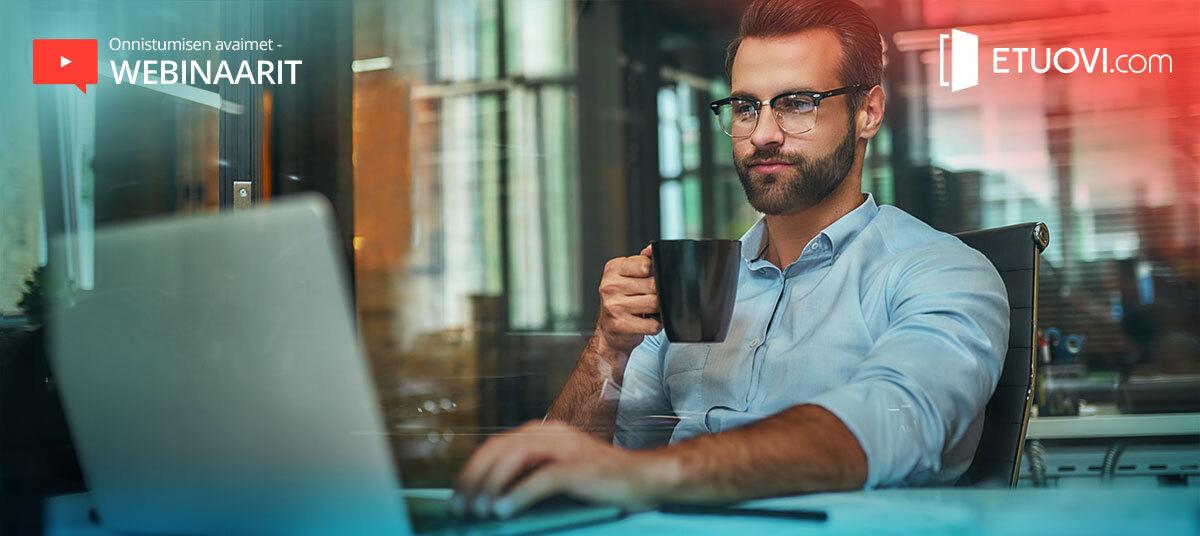 Onnistumisen Avaimet -webinaarit näkivät päivänvalon onnistuneesti
